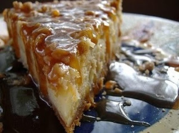 Impossible Toffee Bar Cheesecake Recipe