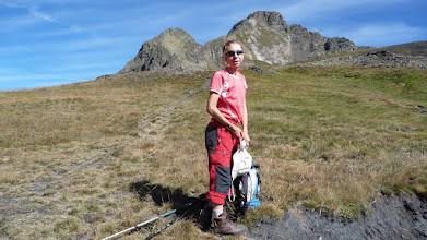 Photo: Notre alpiniste chevronnée