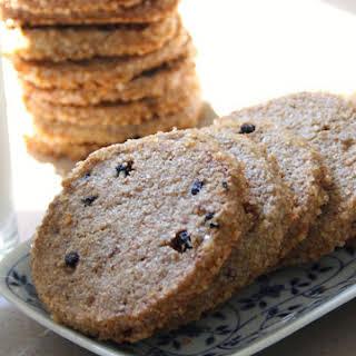Rye Blueberry Cookies.