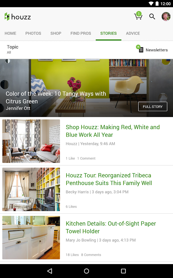 Houzz Interior Design Ideas - 屏幕截图