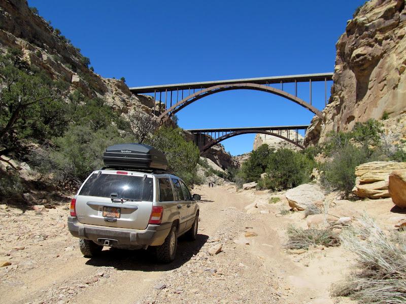 Photo: I-70 bridges over Eagle Canyon