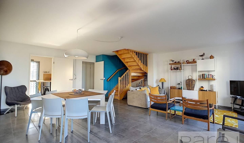 Appartement avec terrasse en bord de mer Arcachon