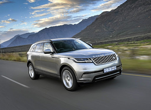The design gives the Velar a unique and imposing look