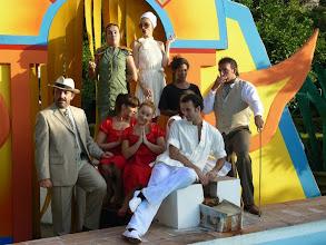 """Photo: Juan Duque www.juanduque.net""""Swimming Swing (el Musical)""""dirigido por Mariona BlanchProducido por Sala CeroEstreno en 2008- Festival Palma del Río(Ensayos)www.juanduque.net"""