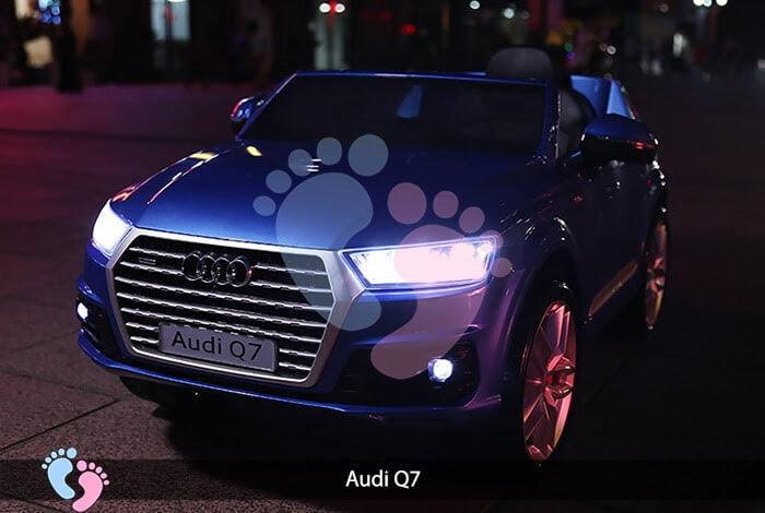 Oto điện Audi Q7 dành cho bé yêu 8