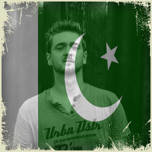 Pakistan Flag On Face Maker : Photo Editor