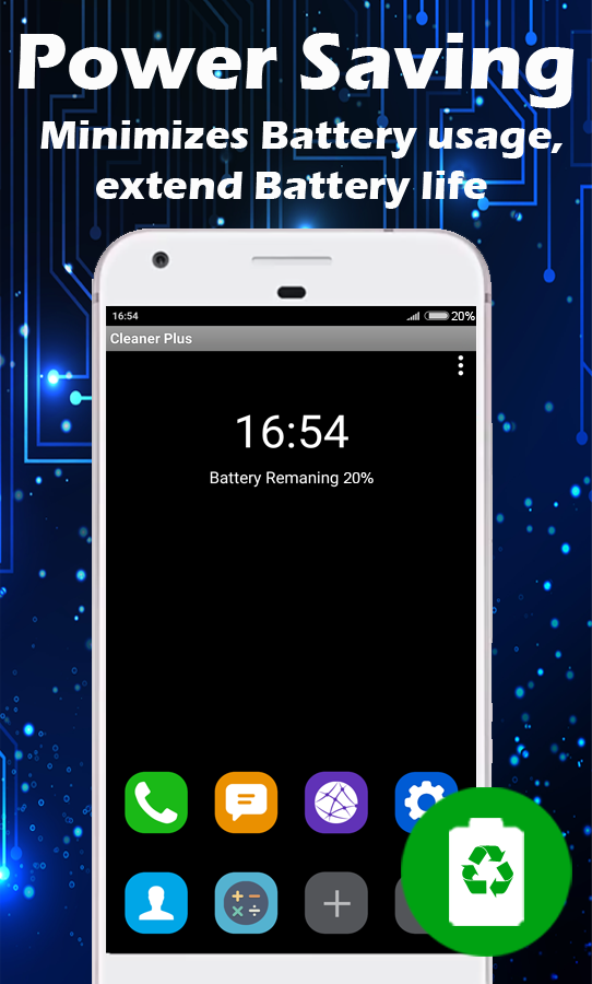 Скриншот Phone Cleaner - Speed Booster & Battery Saver