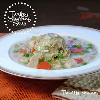 Turkey Stuffing Soup – Thanksgiving in a Bowl