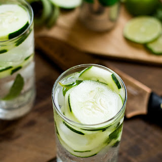 Cucumber Lime Sparkling Water