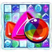 Frost Gems Saga Match 3 puzzle
