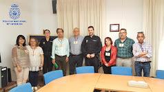Reunión entre sindicatos y responsables policiales