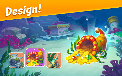 ApkMod1.Com Fishdom - Deep Dive + (Mod Money/Ad-Free) for Android Game Puzzle
