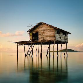 House of the Sea by Faizal Ortho - Buildings & Architecture Other Exteriors ( house of the sea, mabul, semporna, bajau )