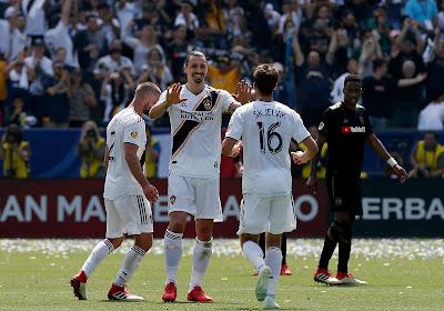 Zlatan Ibrahimovic qualifie les LA Galaxy pour les Playoffs de la MLS