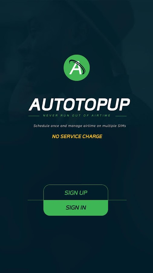 AutoTopUp- screenshot