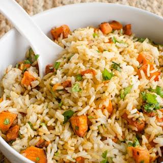 Roasted Butternut Squash Rice