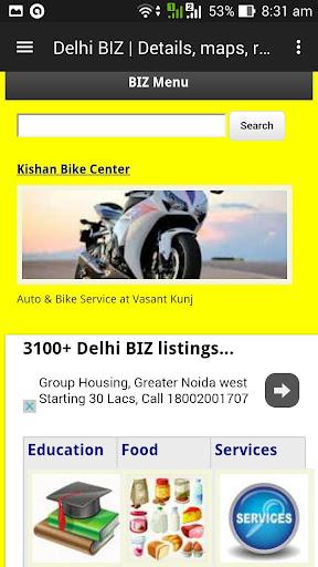 Delhi BIZ Yellow Pages