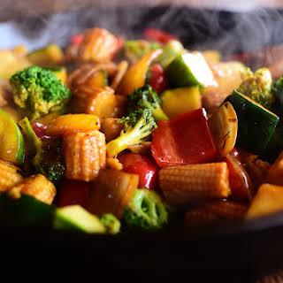 Veggie Stir-Fry.
