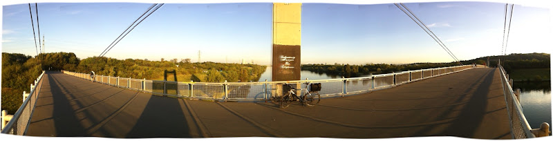Photo: This bridge is straight...