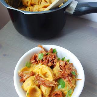 BBQ Jackfruit Sweet Potato Mac Recipe