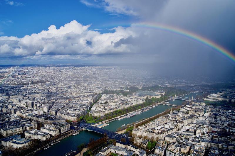 L'arcobaleno dalla torre di gianluca_saiu