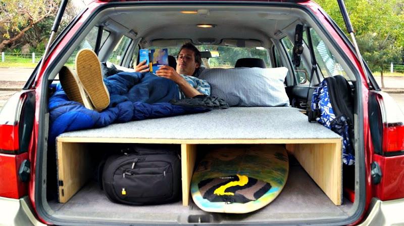 Lars Zeekaf How I Built A Bed In My Car In 3 Simple