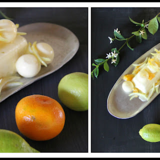 Lemon & Clementine Panna Cotta Recipe