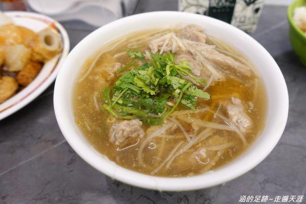 東門赤肉焿 ~ 東門市場排隊名店,平價又好吃的肉羹、滷肉飯、甜不辣