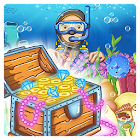 Sea Treasures - Match 3 Connect icon