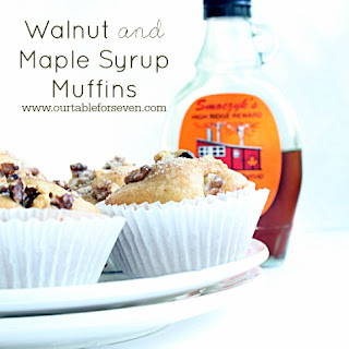 Walnut and Maple Syrup Muffins