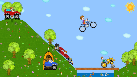 Hills race with obstacles - náhled