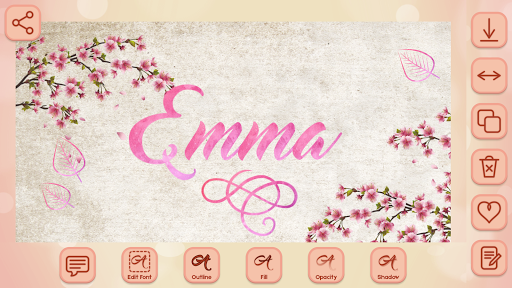 Name Art on Photo Love Calligraphy 1.5 screenshots 5