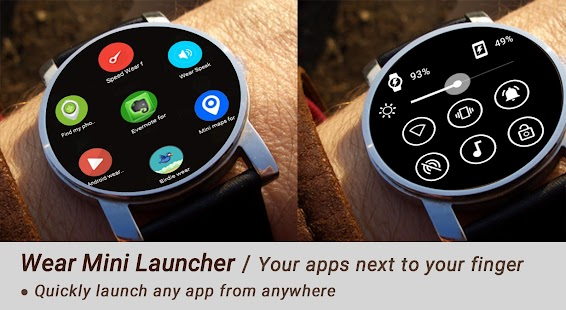 Wear Mini Launcher- screenshot thumbnail