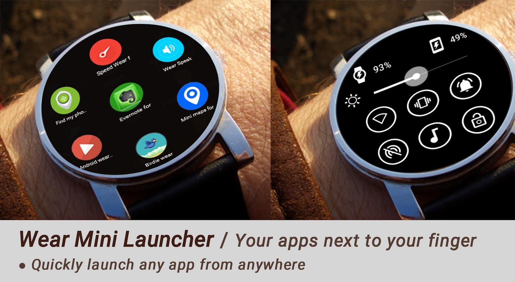 Wear Mini Launcher- screenshot