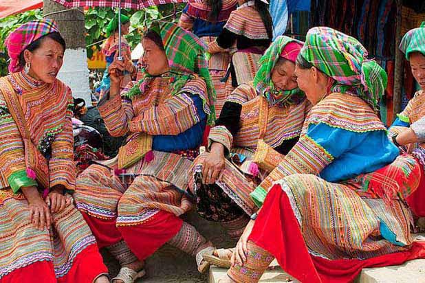 Bac Ha ethnic market