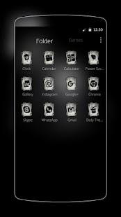 Ace Black Cool Skull screenshot