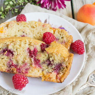 Raspberry Apricot Bread.