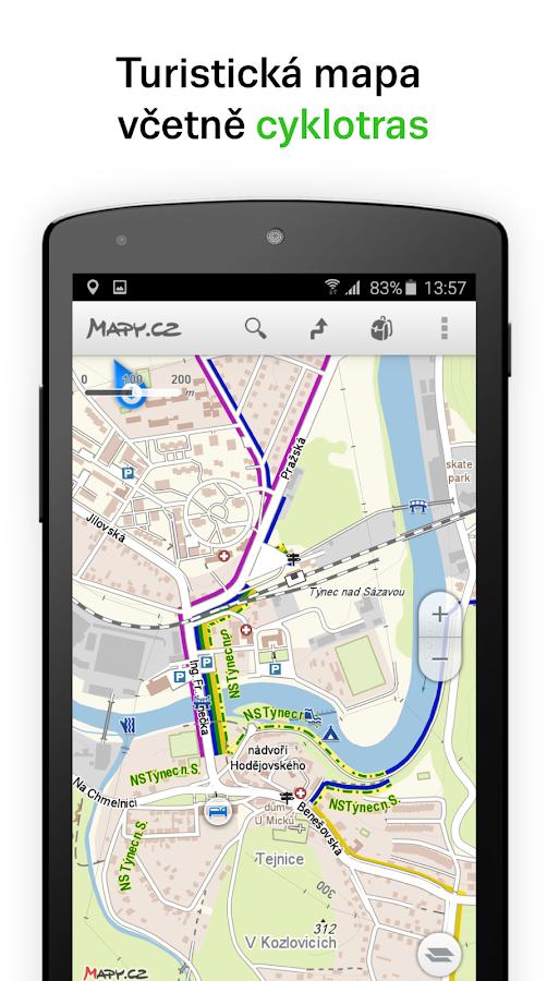 Mapy.cz- screenshot