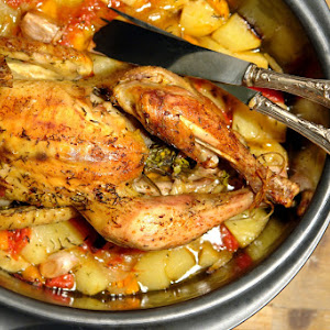 Chicken with Rosemary and Lemon