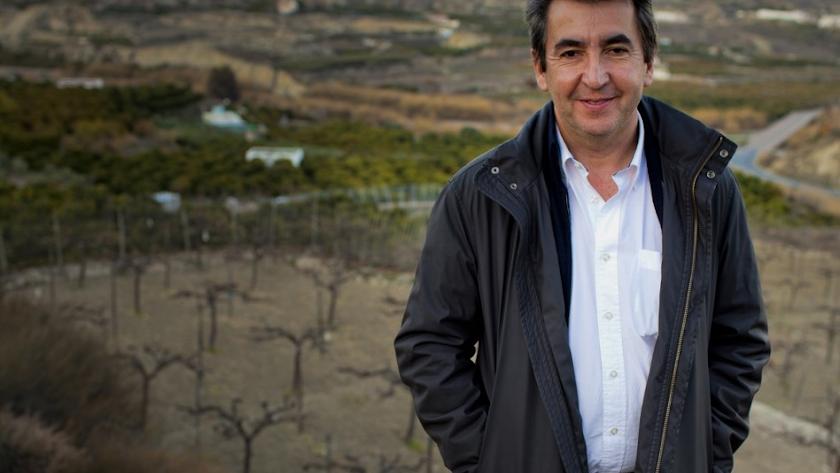 Alejandro Buendía llegó a Almería en 1984 para no marcharse nunca.