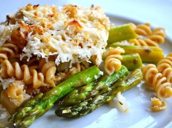 Chicken & Asparagus Mozzarella Casserole Recipe