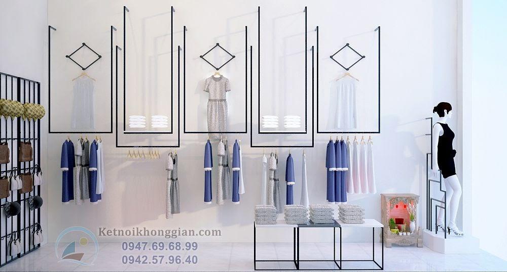 thiết kế shop thời trang công sở công năng cao