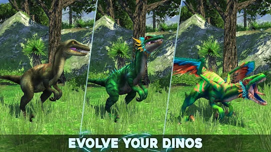 Dino Tamers Mod Apk – Jurassic Riding MMO | Unlimited Money 1