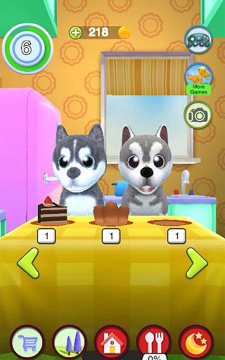Talking Husky Dog 2.25 screenshots 15