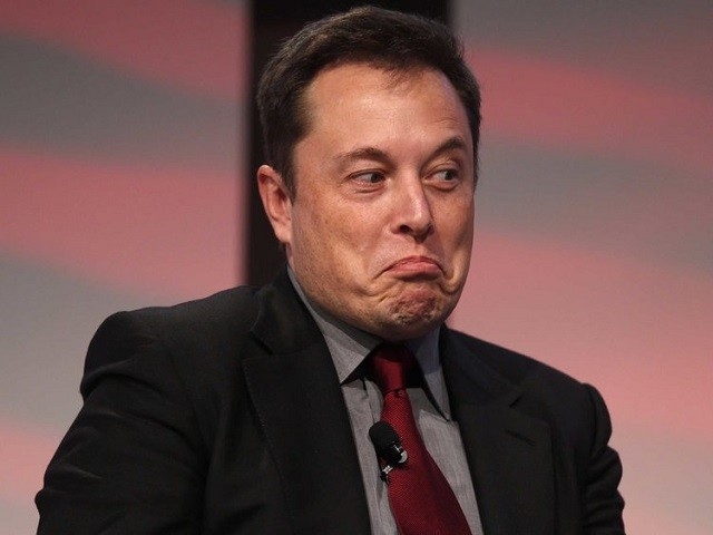 Elon Musk's Twitter account was one of those hacked.