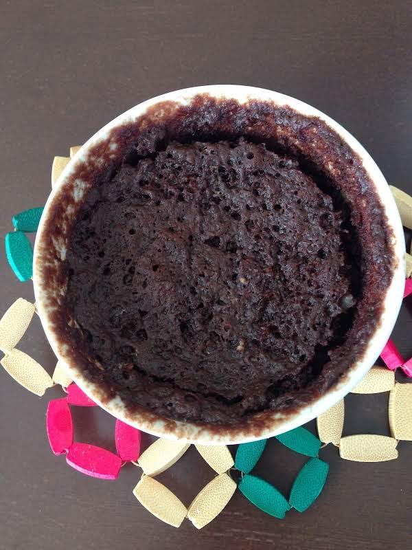 Orange Chocolate Mug Cake Recipe