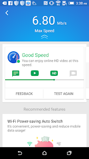 App Speed Test - WiFi / Cellular speed test APK for Windows Phone