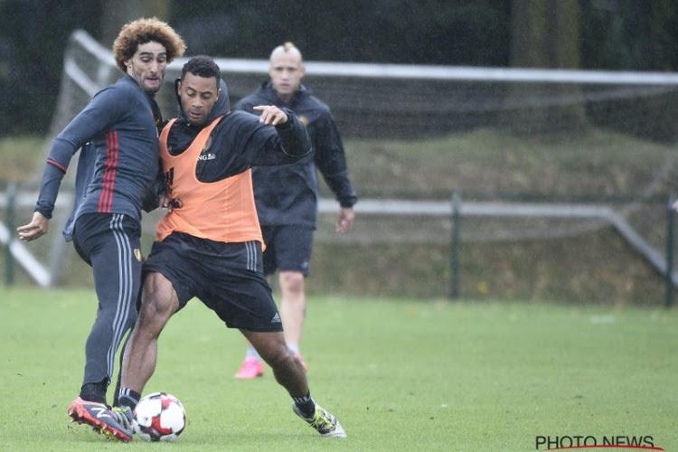 Marouane Fellaini et Moussa Dembélé se sont affrontés ce samedi