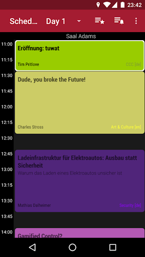 34C3 Schedule 1.33.4 screenshots 1