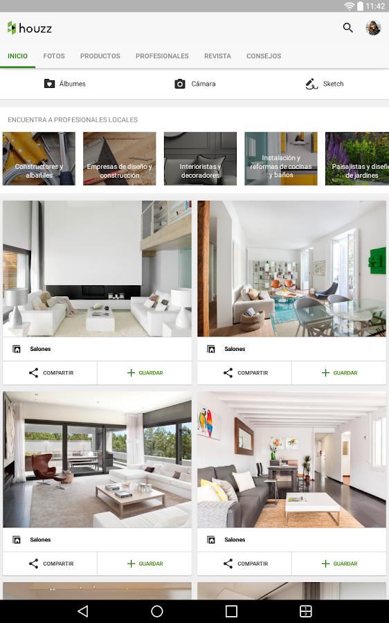 Houzz decoraci n para tu hogar aplicaciones android en for Decoracion hogar quito